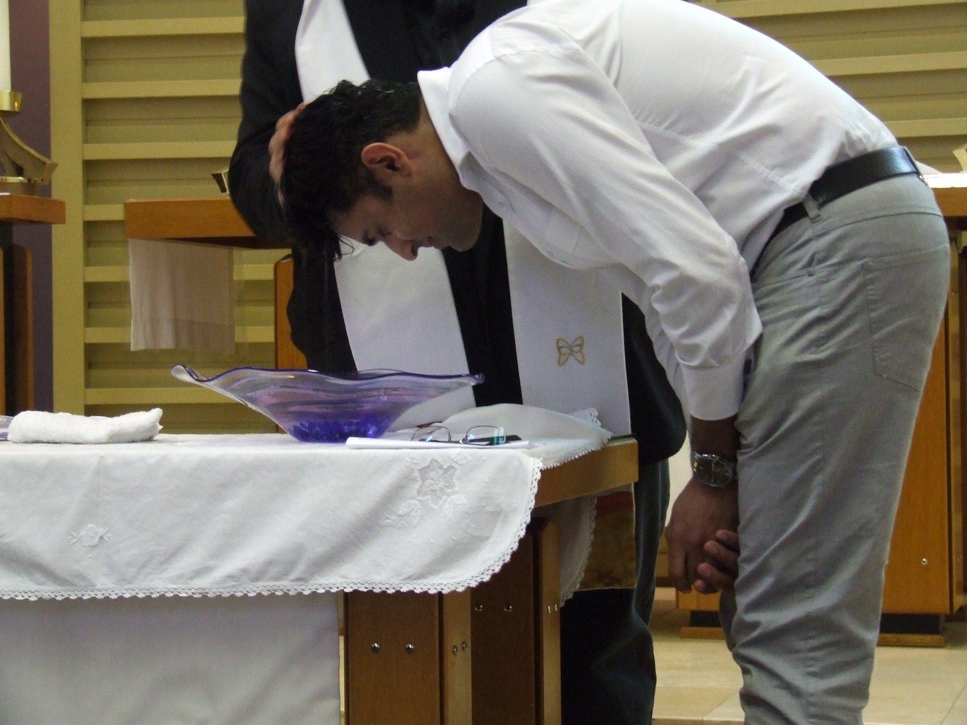 Rahuls baptism